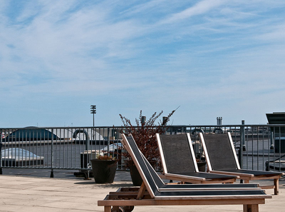 Roof Deck at Lofts for Sale at Porter 156 East Boston